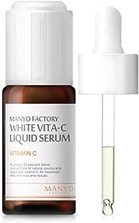 Manyo Factory White Vita C Liquid Serum, 0.3 Ounce