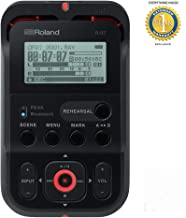 Roland R-07 High-Resolution Audio Recorder Black with 1 Year EverythingMusic Extended Warranty Free
