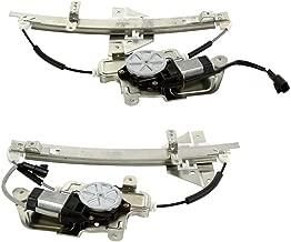 Prime Choice Auto Parts WR841818PR Rear Window Regulator Pair