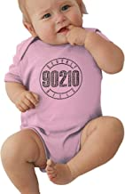 FeiZhiLin Bever_ly HIL_ls 90210 Sign Printed Nice Black Jumpsuits for Baby Girl Bodysuit