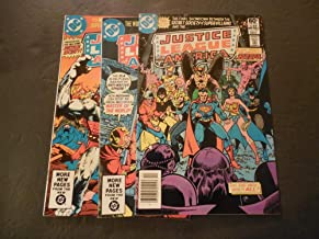 3 Iss Justice League Of America #196-197,199 Bronze Age DC Comics