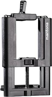 Mantona Smart Stand Maxi uchwyt z gwintem 2 x 1/4 adapter do statywu do smartfonów o szerokości do 10 cm