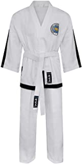 Playwell Martial Arts Elite Ultra Light ITF Taekwondo Masters Fighter Suit