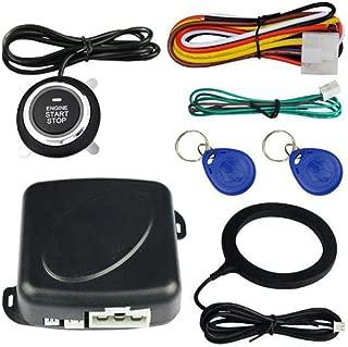 Car Anti-Theft System Engine Push Start Button Stop RFID Lock Ignition Switch Keyless Entry Immobilizer Burglar Alarm