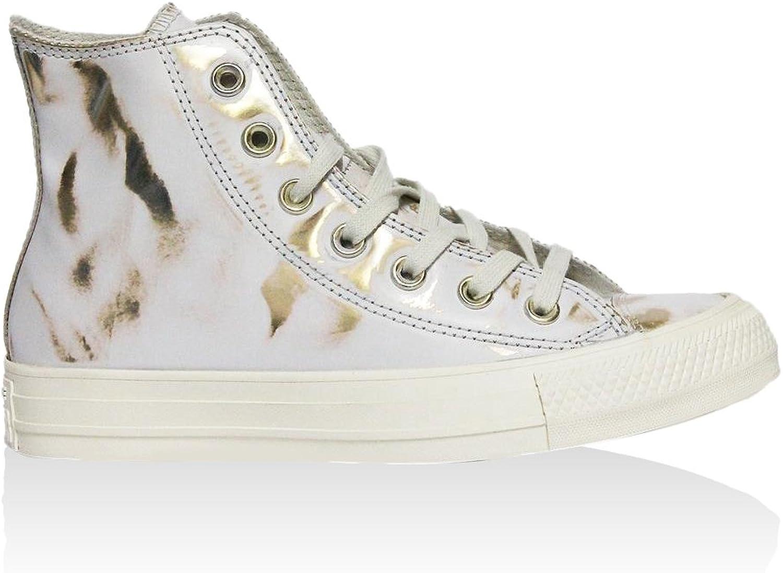 Converse - All Star Hi, Sneaker Alte Donna Bianco