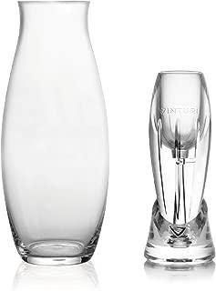 Vinturi V8060 Reserve Essential Red Wine Aerator and Carafe, Set of 2, White