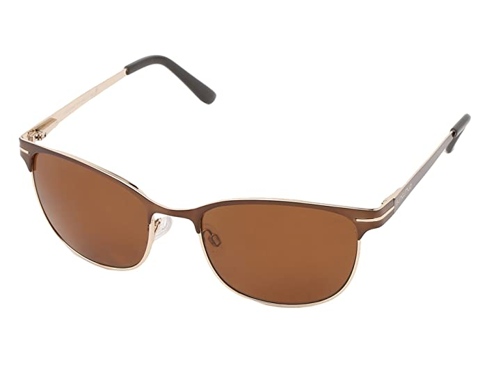 SunCloud Polarized Optics Causeway (Brown Frame/Brown Polarized Polycarbonate Lenses) Fashion Sunglasses