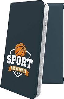 スマートフォンケース・Xperia Z4 SOV31・互換 ケース 手帳型 個性 バスケ バスケット バスケットボール ボール スポーツ エクスペリア かっこいい XperiaZ4 男性 men [9aJ25969PS5]