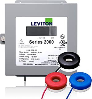 Leviton 2K208-2SW Series 2000 120/208V 3P4W 200A Indoor Kit with 3 Solid Core CTs