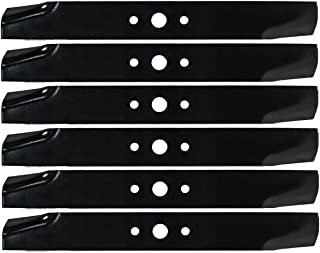 6PK High Lift Lawn Mower Blades for 44