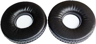 交換用耳パッドEarpads修理パーツfor AKG k141 K141mkii k121 K121s k141mk2 K142hd ヘッドフォンEarmuffsクッション ブラック AKG K141