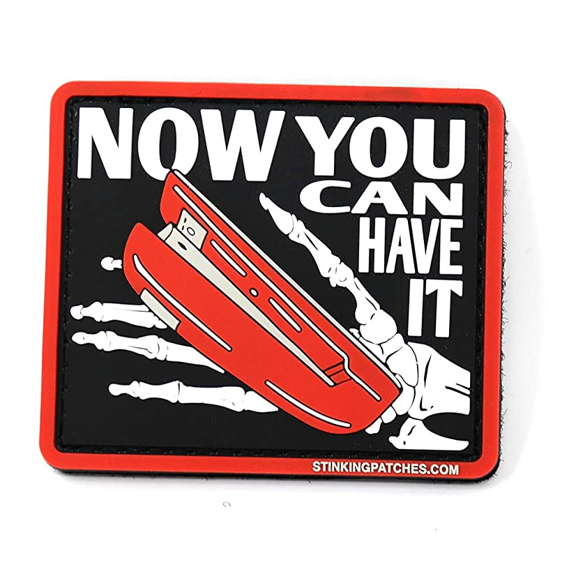 Now You Can Have It PVC Rubber Tactical Patch | Office Space Inspired | Funny Morale Patch