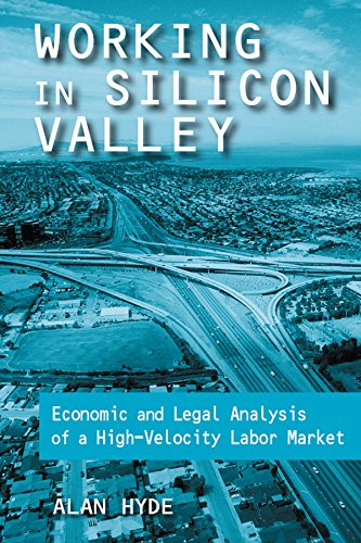 Working in Silicon Valley: Economic and Legal Analysis of a High-velocity Labor Market (Issues in Work and Human Resources (Paperback))
