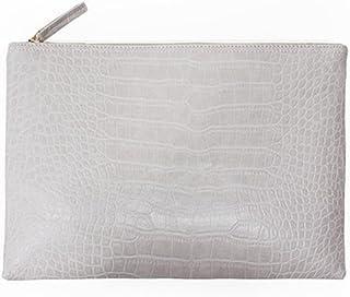 691c2bd6b3 NIGEDU Women Clutches Crocodile Grain PU Leather Envelope Clutch Bag