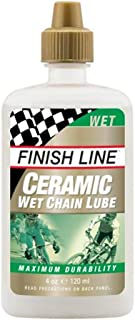 Finish Line Ceramic Wet Bicycle Chain Lube