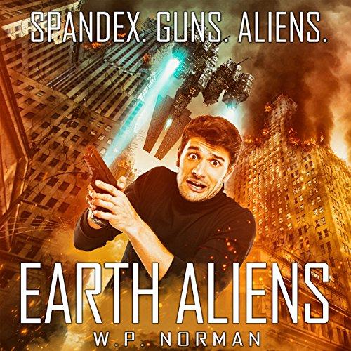 Earth Aliens audiobook cover art