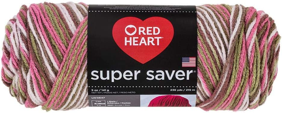 Red Heart Yarn Pink Camo Ranking TOP2 972 m Saver Super Max 61% OFF