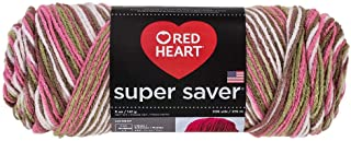 Red Heart Yarn Pink Camo (m) Red Heart Super Saver Yarn 972 (m)