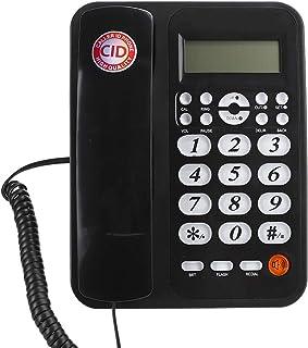 Vaste telefoon, vaste muur vaste telefoon met nummerherkenning voor thuis, kantoor, hotel.
