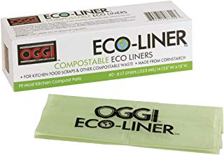 Oggi Eco-Liner Compost Pail Liners