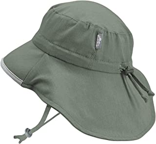 f3615b21168 Baby Toddler Kids Wide Brim 50+ UPF Sun-Hat with Neck Flap Chin-