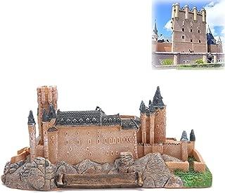 suneagle Home Decorations, Segovia Castle Sculptures in Spain, Landmark Architectural Model Ornaments, Decorative Collections, Small Sculptures, Tourist Souvenirs,16cm×7.8cm×7cm-Brown