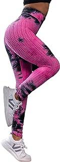 Tuopuda Leggins Donna Sportivi Pantaloni Fitness Vita Alta Leggings Compressione per Palestra Fitness Pantaloni Push up Yo...