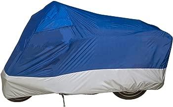 Dowco Guardian 26010-01 UltraLite Water Resistant Indoor/Outdoor Motorcycle Cover: Blue, Medium