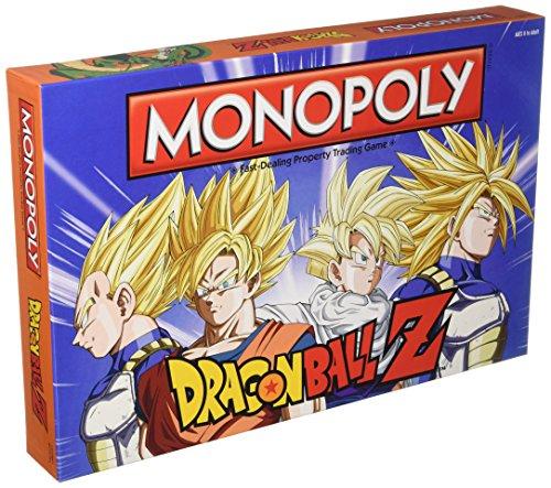Dragon Ball Z Edition Monopoly Brettspiel