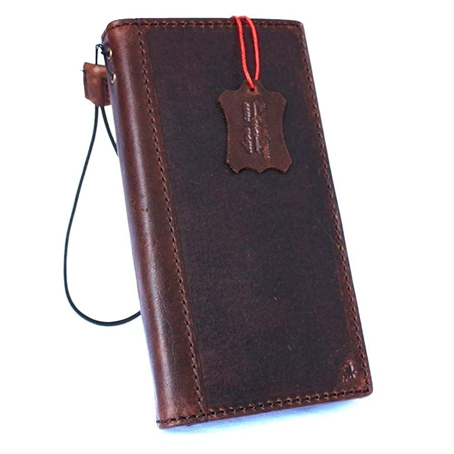 Genuine Vintage full Leather Case for Samsung Galaxy S8 plus Book Wallet Luxury Cover S Handmade Retro Id s 8 brown chocolate daviscase
