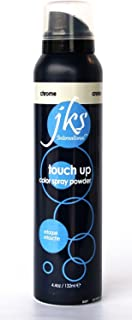Touch up spray CHROME/SILVER, temporary hair color spray powder for ombres and highlights
