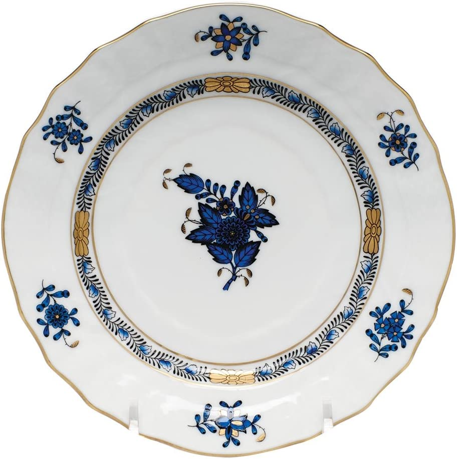 Herend Chinese Bouquet Black Sapphire Bread P Baltimore Mall Butter Porcelain Max 56% OFF