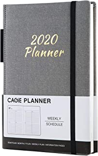 Day Planner 2020 Weekly Planner (January 2020 - December 2020) High Performance Time Management Calendar Journal Weekly/Daily Dated Agenda Planner,Gray