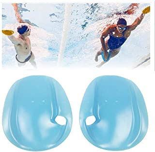 Ladovin Contour Swim Training Hand Paddles Swimming Exercise Gloves for Swimmer Beginner
