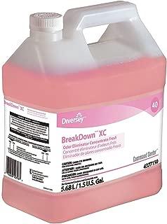 Diversey Liquid Deodorizer, Size 1.5 gal, Red, PK2