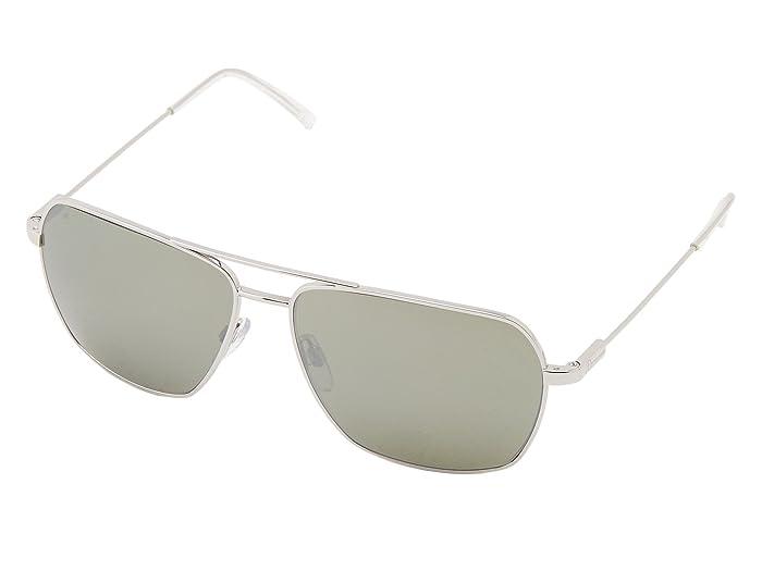 Electric Eyewear Av2 Polarized (Platinum/OHM Grey Silver Chrome) Sport Sunglasses