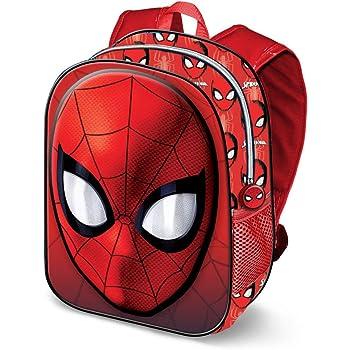 Red Rouge Klein Karactermania Spiderman Spiderweb-Dual Rucksack 9.25 liters Sac /à Dos Enfants 32 cm