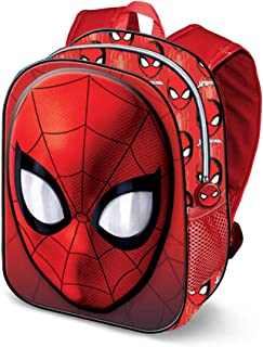 Spiderman Spiderweb-3D Rucksack (Klein) Mochila Infantil 31 Centimeters 8.5 Rojo (Red)