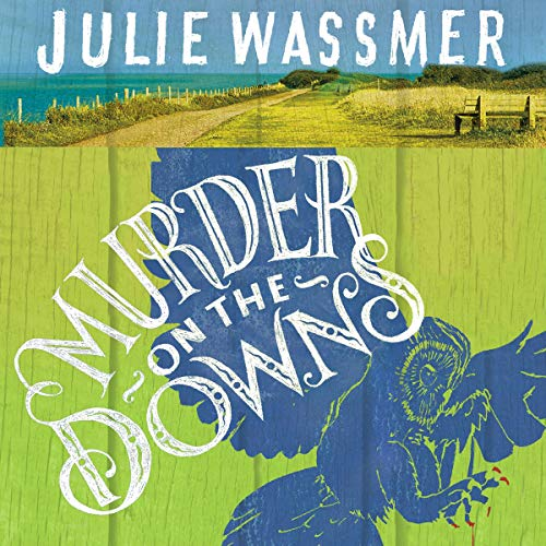 Murder on the Downs audiobook cover art