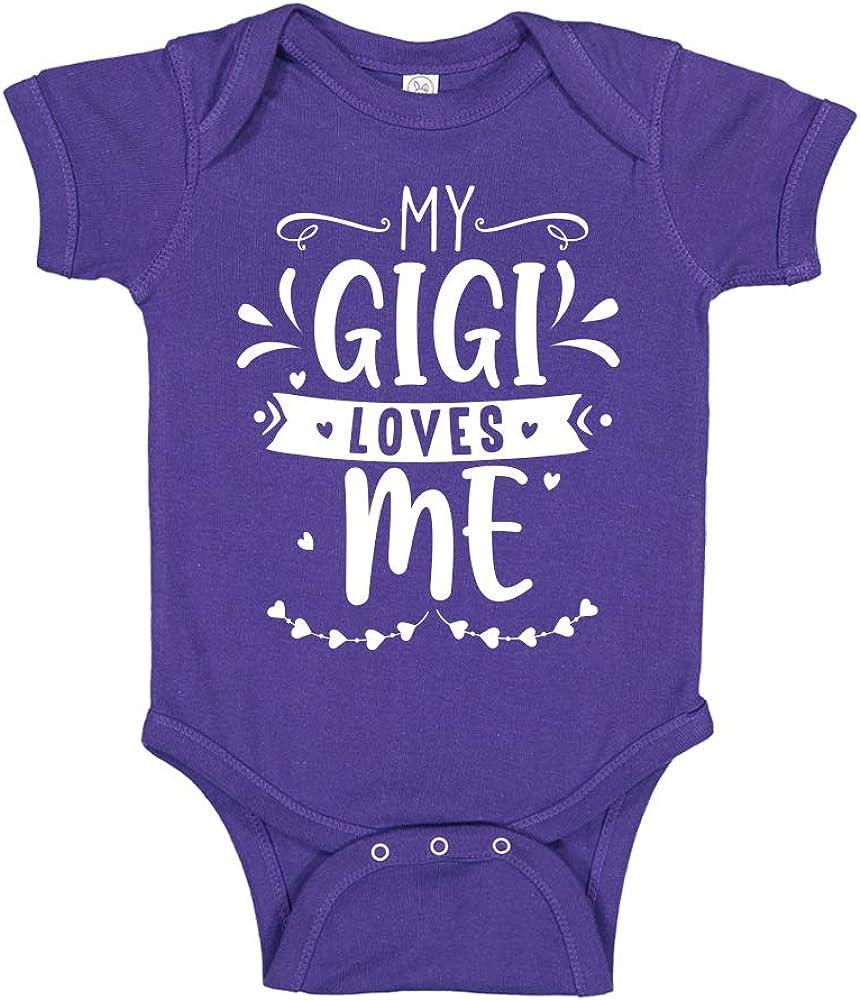 My Gigi Ranking TOP17 Loves Me Baby Bodysuit Trust Toddler Grandma C Cute T-Shirt or
