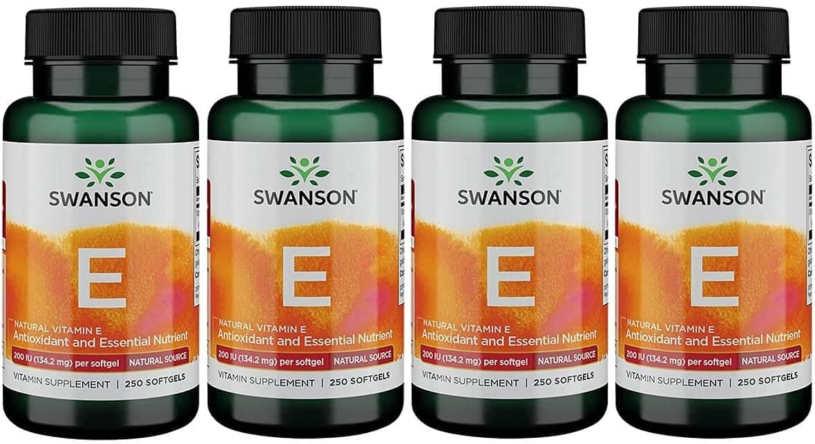 Swanson Natural Vitamin E 200 Iu 134.2 Philadelphia Mall Over item handling ☆ Sgels 250 Milligrams 4