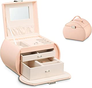 Vlando Princess Style Jewelry Box from Netherlands Design Team, Fabulous Girls Gift (Pink)