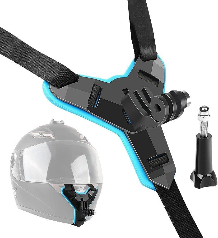 Full Face Helmet Max 77% OFF Chin Mount Holder Jaw H Strap Motorcycle Mesa Mall