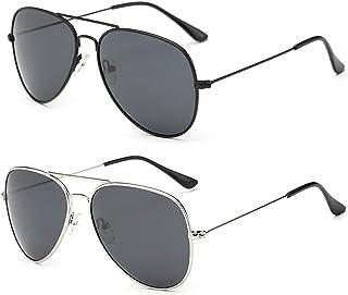 YOSHYA Aviator Sunglasses for Mens Womens Mirrored Sun...