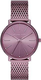 Michael Kors Pyper Women's Purple Dial Stainless Steel Analog Watch - MK4524