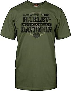 Harley-Davidson Military - Men's Graphic Short-Sleeve Tee - Overseas Tour | Honor