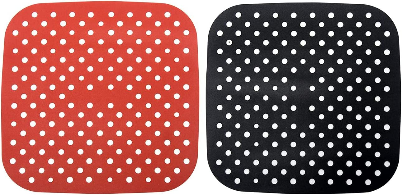 Air Fryer Liners 2Pcs Reusable Cl Silicone In a popularity Popular brand in the world Easy