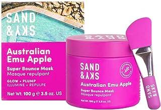 Sand & Sky Australian Emu Apple Super Bounce Gezichtsmasker. Hydraterend en vochtinbrengend gezichtsmasker