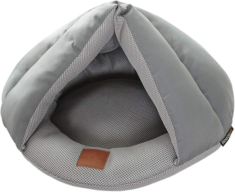 DSADDSD Pet Bed Cat Litter Summer Mat Sleeping Bag Four Seasons Available Pet Bed Supplies (color   2 50cm50cm20cm)