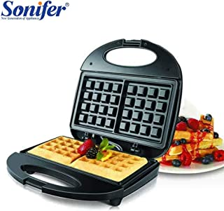 High Quality   Waffle Makers   Electric Waffles Maker Electric Sandwich Iron Machine Bubble Egg Cake Oven Breakfast Machine Sonifer fast delicious Safety   by NAHASU
